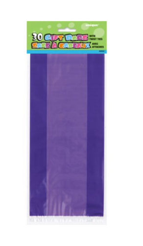 Purple Cello Bags - 30 Count