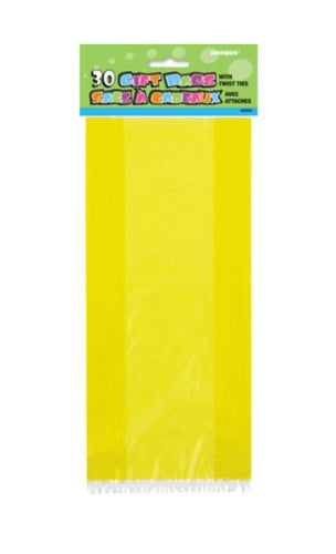 Yello Cello Bags - 30 Count