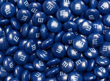 M&M's Milk Chocolate Candy - Navy Blue 2LB Bag