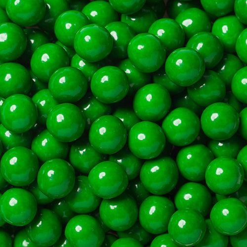 Sixlets Milk Chocolate Balls 2LB - Green