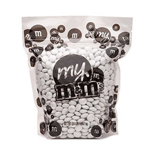 M&M's Milk Chocolate Candy - White 2LB Bag
