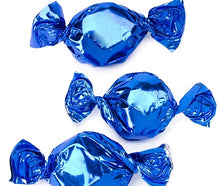 Metallic Foiled Hard Candy Buttons 2LB - Blue