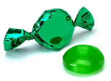 Foiled Hard Candy Buttons 2LB - Green