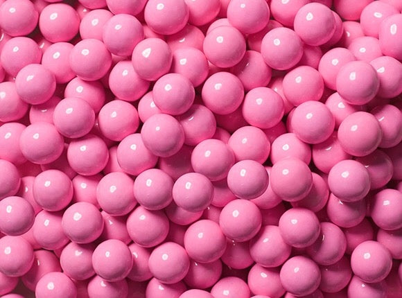 Sixlets Milk Chocolate Balls 2LB - Light Pink