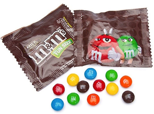 M&Ms Candy Fun Size Packs - 2.5LBS