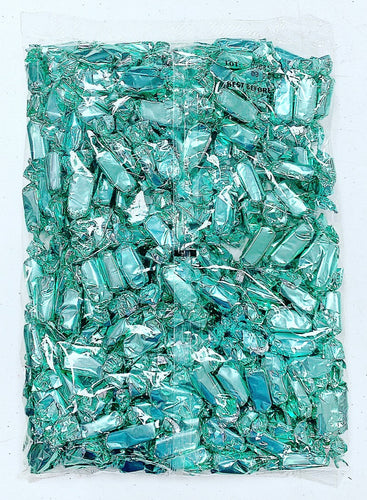 Metallic Foiled Caramels Turquoise - 2LBs
