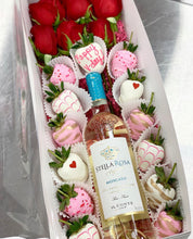 Strawberry/Rose Wine Box - Pre Order $75