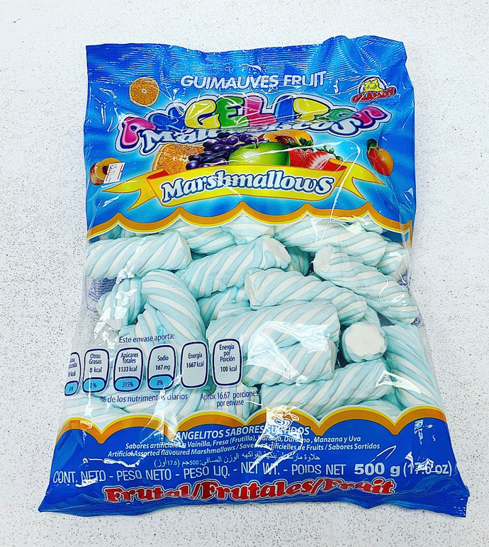 Marshmallow Poles - Light Blue