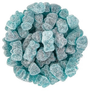 Sour Blue Raspberry Gummy Bears - 3.3LBS