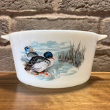 JAJ Pyrex 'Wildfowl' Junior Spacesaver Casserole (largest of 3)