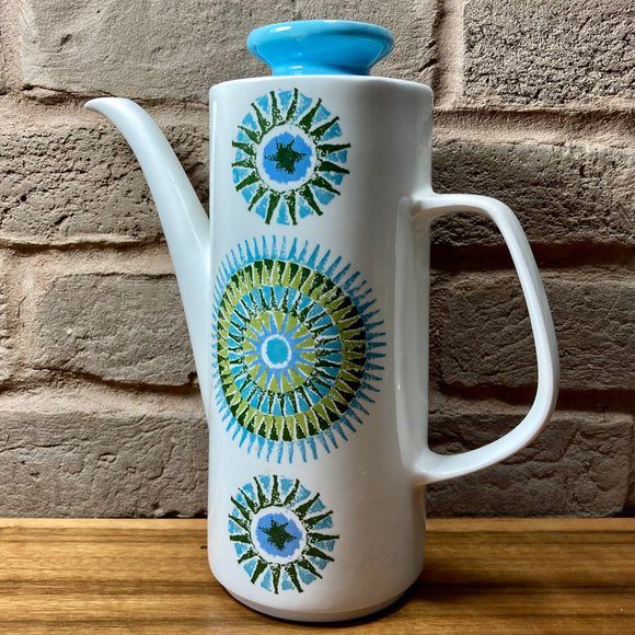 J.& G. Meakin Studio Coffee Pot - Aztec
