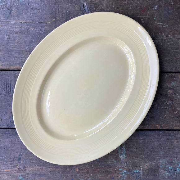 Wood's Ware 'Jasmine' large Oval Platter