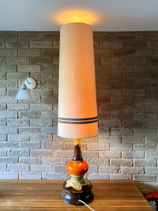 'Jasba' West German Fat Lava Floor Lamp
