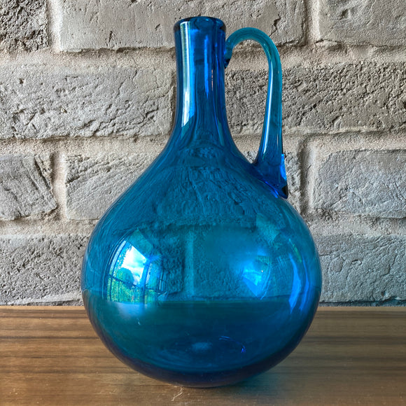 Magnor Glass Vase , blue, shape 409