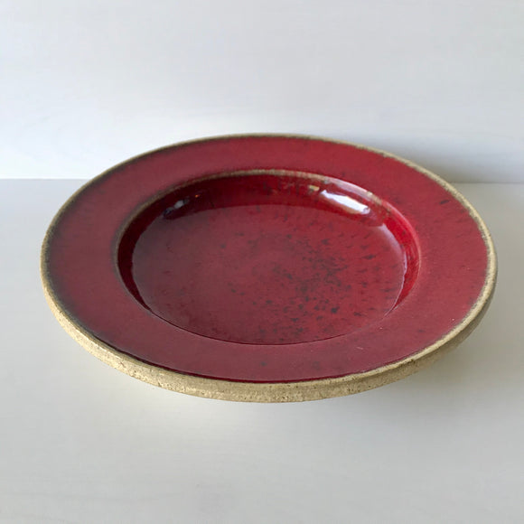 Nils Kähler, Herman A. Kähler (HAK) signed Modernist Eartheneware Bowl