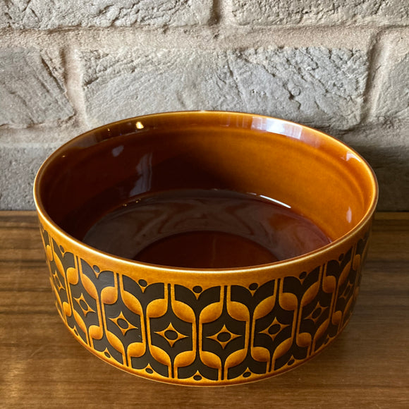 Hornsea 'Heirloom' (brown) large Serving Bowl