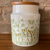 Hornsea 'Fleur' large Tea Storage Jar
