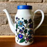 Midwinter 'Alpine Blue' coffee pot