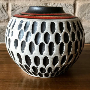 Jasba, Mid Century West German Pottery Vase 191/12