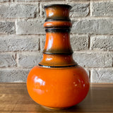 116630 Jasba, West German Vase, orange