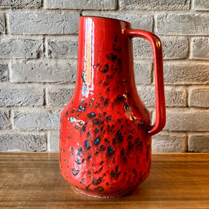 408 40 Scheurich, West German large floor vase