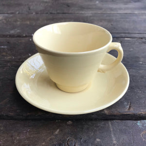 Wood's  Ware 'Jasmine' Coffee Cup and Saucer
