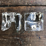'Ri-Jalka' candle holders by Juhava, Finland, set of two