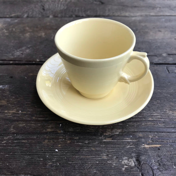 Wood's Ware 'Jasmine' Espresso Cup and Saucer