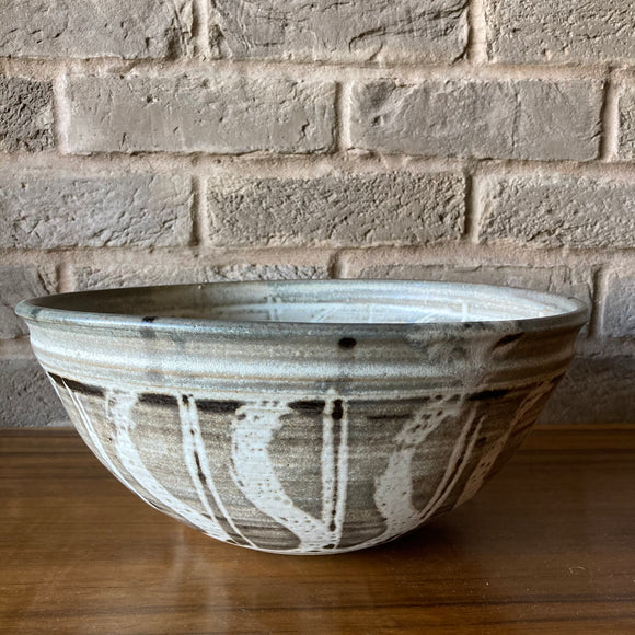 Large Studio Pottery Bowl, Burley Pottery