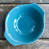 Poole Pottery Blue Moon lug handled Bowl
