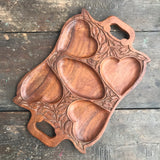 Carved Rosewood Tray