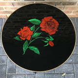 Vintage Coffee Table, Rose Design