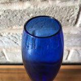 Hadeland, Norway blue glass Vase