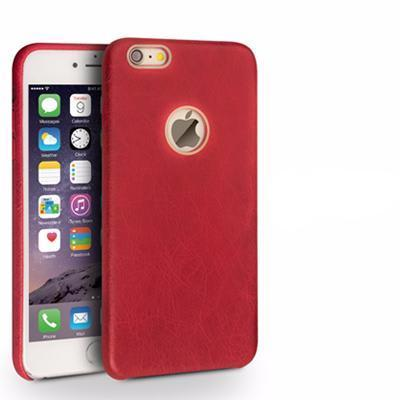Iphone (6/6S/6S Plus) Luxury Genuine Leather Back Case 55 I6S Plus Red Tekgq