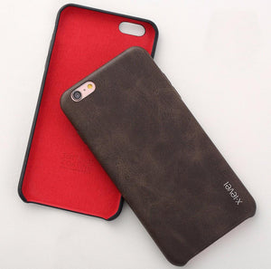 Iphone (7 Plus) Slim Pu Leather Back Case Tekgq