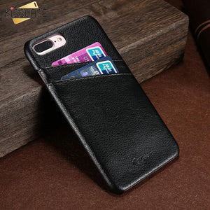 Iphone 8/6/6S/7/7 Plus Luxy Delux Leather Wallet Case Tekgq