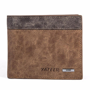 Men Fashion Leather Wallet - TekGQ