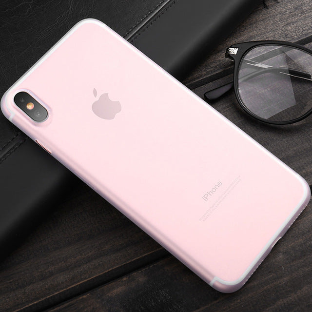 iPhone X Slim Case with Logo