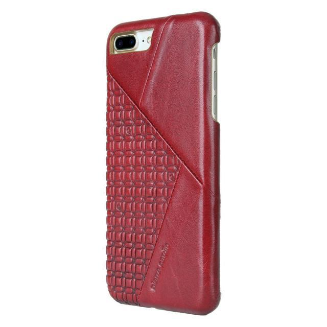 Hard Back Slim Vintage Leather Case for iPhone 7 Plus