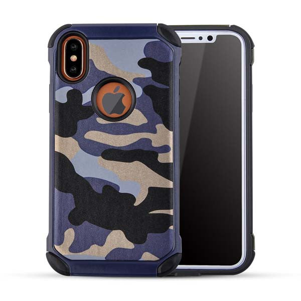 iPhone X Hybrid Armor Hard Back Case