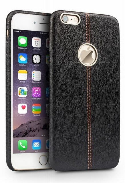 iPhone 6/6s, 6 Plus/6s Plus Leather Case with Middle Stitch