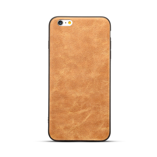 iPhone 6/6s Leather Case - Vintage Business