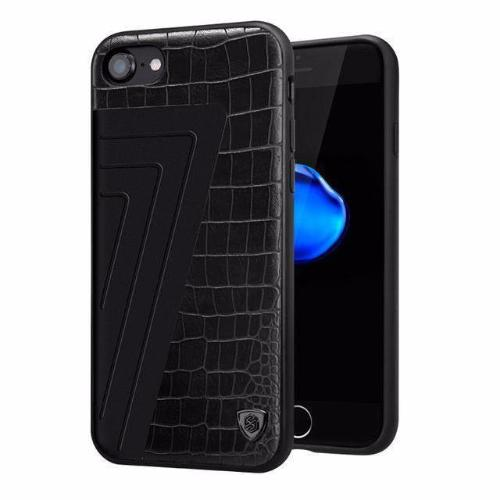 Style 2 | Iphone (7 & 7 Plus) Hybrid Luxury Pattern Back Case Black / For Tekgq