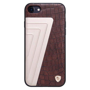 Style 6 | Iphone (7 & 7 Plus) Hybrid Luxury Pattern Back Case Brown/beige / For Tekgq