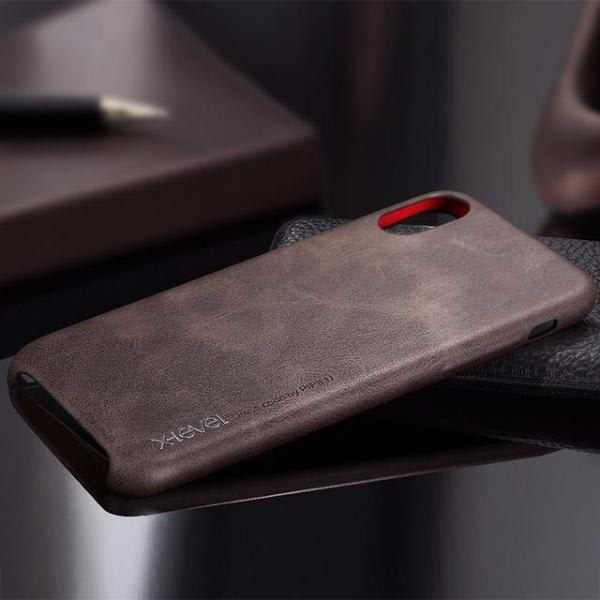 Vintage Leather Case For Iphone X Tekgq