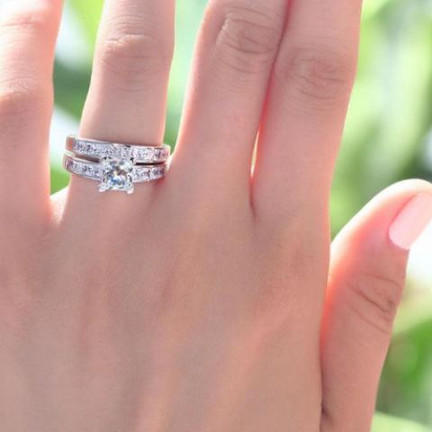 Classic Princess Cut, Engagement Ring