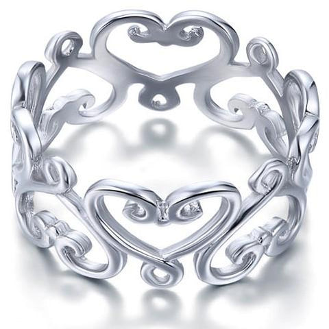 Beautiful heart ring