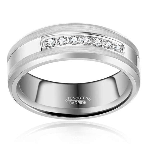 Men's Tungsten Carbide Ring