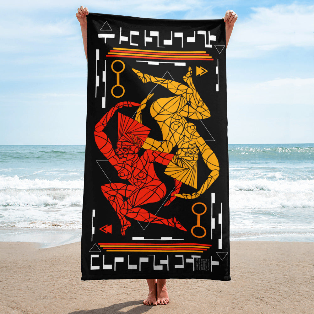 """Queen Tech""- Sublimation Towel"