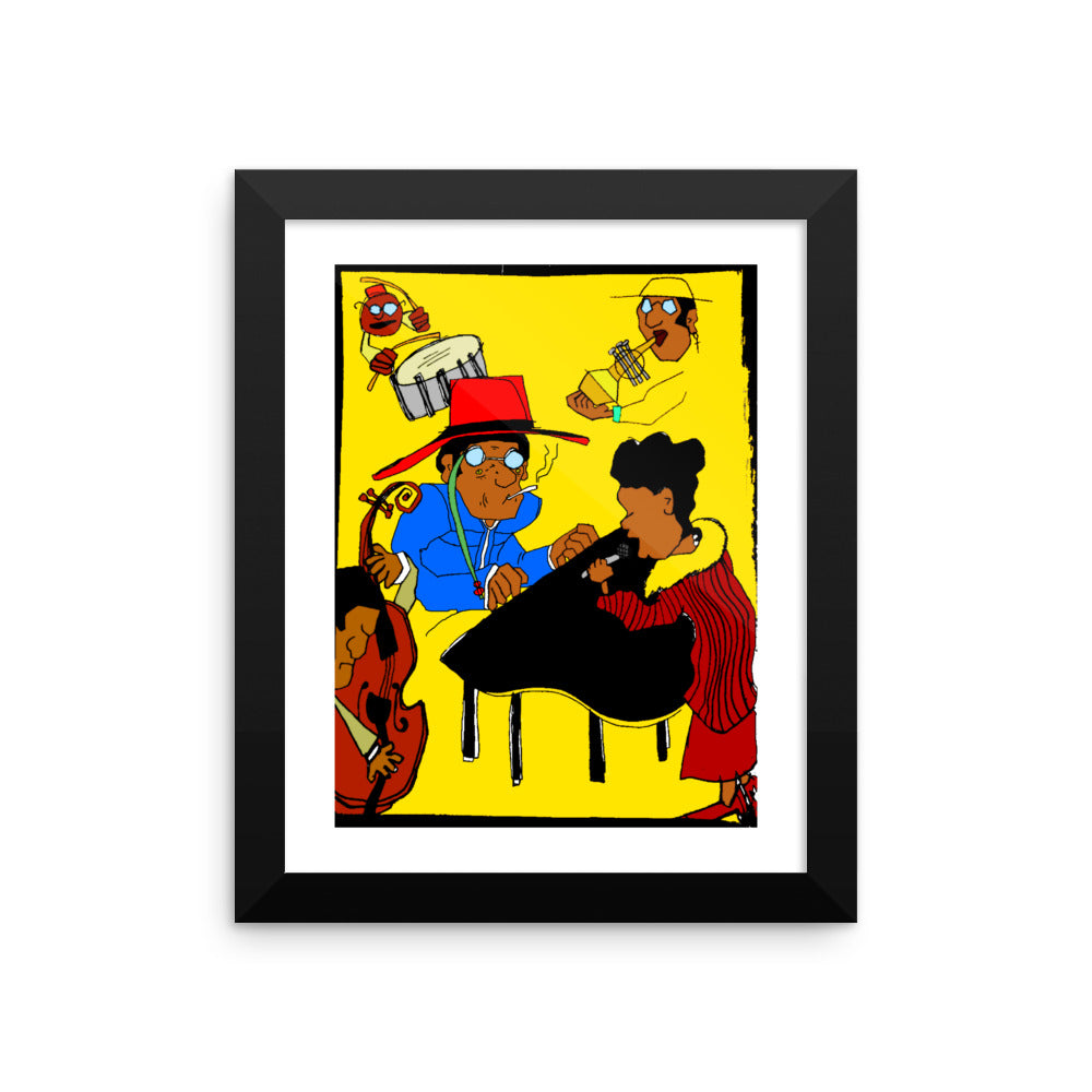 """All That Jazz"" - Framed photo paper poster"